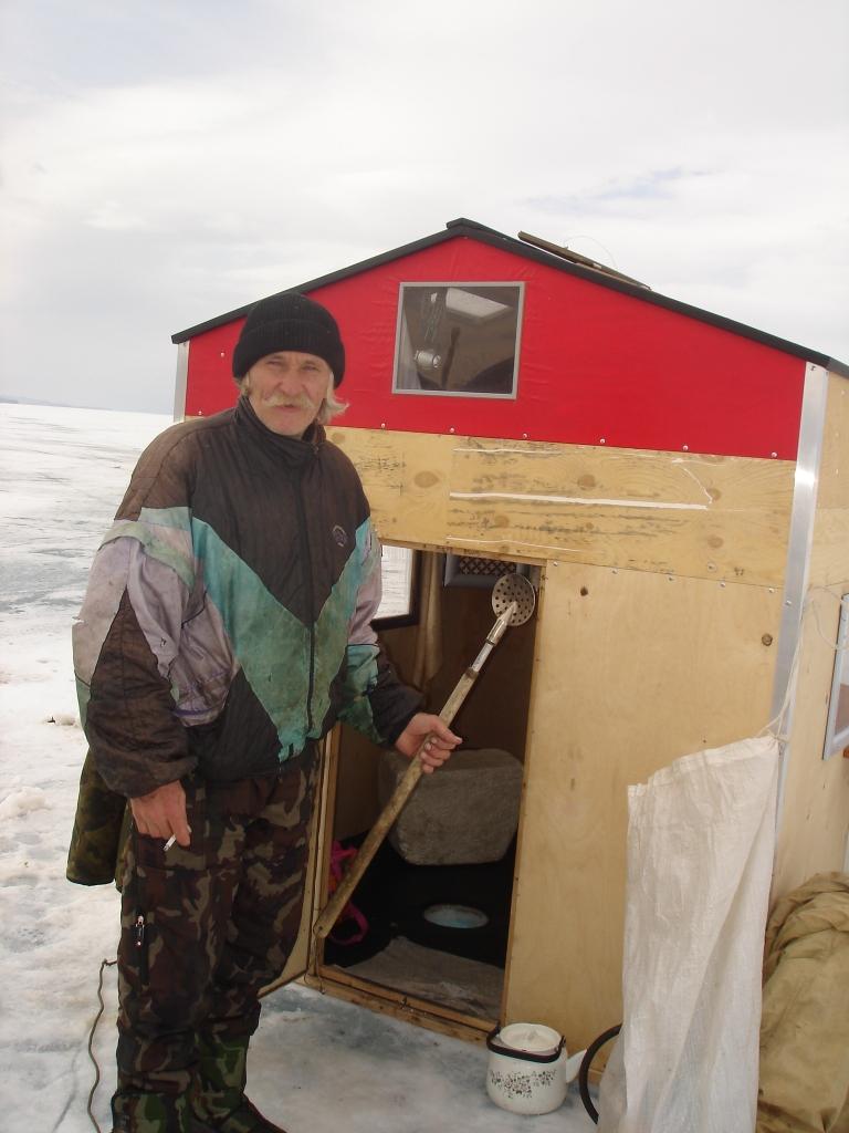 Палатка для зимней рыбалки из фанеры своими руками 83