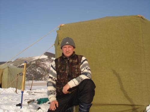 подледная рыбалка в иркутской области